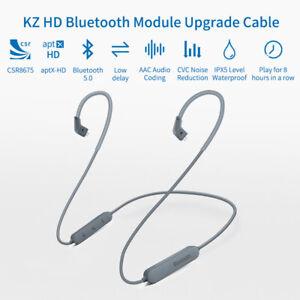 KZ APTX HD Bluetooth 5.0 Waterproof Bluetooth Module Upgrade Cable For ZST/ZS10