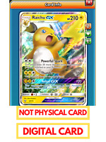 Pokemon TCG Online Raichu-GX Shining Legends Trading Card PTCGO Digital Card