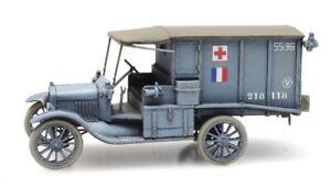 Artitec 6870309 - 1/87/H0 T-Ford Ambulance Army De Terre - New