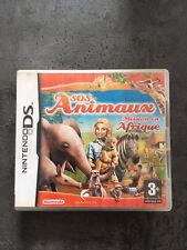 JEU NINTENDO DS  3DS : SOS ANIMAUX MISSION EN AFRIQUE    F40