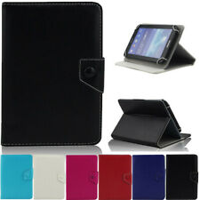 "US For Samsung Galaxy Tab 2/3/4/ 7""10"" Pure Color PU Leather Stand Case Cover"