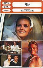 Movie Card. Fiche Cinéma. Elle / Ten (USA) Blake Edwards 1979