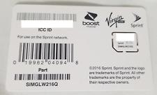 NEW Sprint MINI SIM Card - SIMGLW216Q / CZ2112LWQ