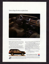 1992 JEEP Grand Cherokee Limited Vintage Original Print AD Black interior photo