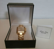 "Markus Ruby ""Evolution"" Unisex Swiss Quartz Chronograph Watch w/Box"