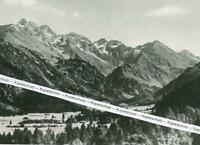 Obersdorf im bayerischen Allgäu - Birgsautal - um 1930      W 12-10