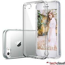 Transparent Clear Case/Cover Silicone Gel Rubber TPU Soft For iPhone 5 / 5S