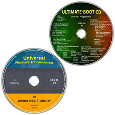 Universal Treiber-Meister für Windows + Ultimate Boot / Ersthilfe & Notfall-CD