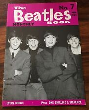 RARE 1963 THE BEATLES MONTHLY BOOK #7
