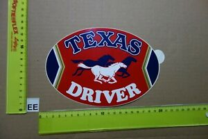 Alter Aufkleber Zigaretten TEXAS DRIVER
