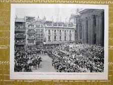 Giubileo di diamante della regina d'Inghilterra Vittoria nel 1897: La Cerimonia