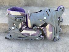 Women Rollerblades Skates Size 8 Purple Glitter VINTAGE!!!