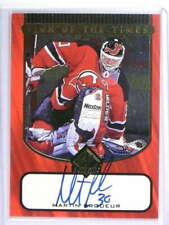 1997-98 SP Authentic Sign Of The Times Martin Brodeur autograph auto *74425