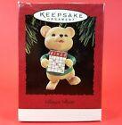 Hallmark Keepsake Christmas Ornament - BINGO BEAR - Dated 1995 - w/ Original Box