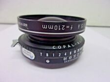 Rodenstock 72° Apo-Sironar-N 210mm F5.6 , Copal-No.1 Excellent Plus