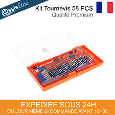 KIT OUTILS TOURNEVIS AIMANTE IPHONE 3 4 5 6 IPAD IPOD MAC REPARATION TELEPHONE