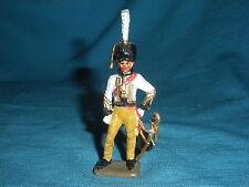 558A Starlux Atlas Comandante Manhe Figura Plomo Empire Soldado 1/32 Napoleón