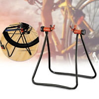 Folding Bike Cycle Floor Stand For Easy Repair And Maintenance Bicycle Holder