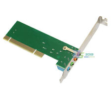 Audio Sound PCI Card 4 Channel Surround 3D CMI8738 With MIDI Game Port CD for PC