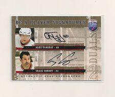 2006-07 BAP Be A Player Dual Signature #D-CA Alex Tanguay & Craig Conroy