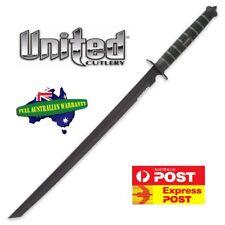 United Cutlery USMC Blackout Combat Tanto Sword UC3157 with Nylon Sheath