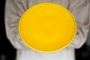 Handmade colorful plates Dinner plate serving plate Ring plate Siply Dinnerware