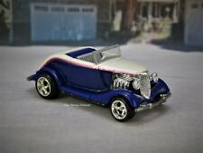1934 34 Ford Roadster Hot Rod Collectible 1/64 Limited Edition