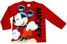 NEU! Disney Mickey Mouse Langarmshirt Sweatshirt Pullover Pulli Baumwolle 86