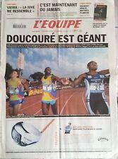 L'Equipe Journal 16/7/2005; Doucouré est Géant/ Viera/ Gasquet brille