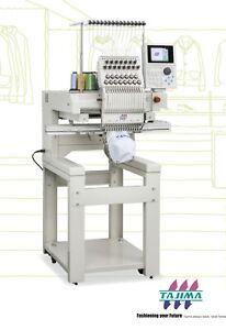Tajima Embroidery Machine TMBP-SC1501 15 Needle.
