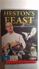 Heston's Feast  [ 2 DVD Set ] Multi Region, FREE Next Day Post