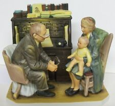 """Norman Rockwell """"First Anual Visit""""  GORHAM RW-31 Figurine First Annual Visit"""