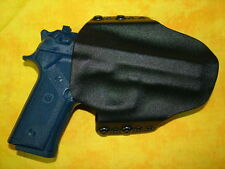 HOLSTER BLACK CARBON KYDEX FITS BERETTA 96 A1 with TLR-1 OWB Outside Waistband