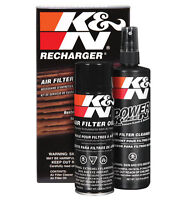 K&N Air Filter Re charger Cleaning & Servicing Care Kit - NEW & IMPROVED!