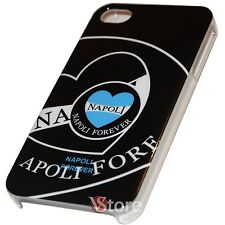 Cover Custodia Per iPhone 4 e 4S Napoli Forever Retro Rigida