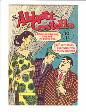 Abbott & Costello   No.19    1950s       : Australian Copy! :