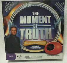 The Moment of Truth Game with Biometric Lie Detector NEW! Sealed!
