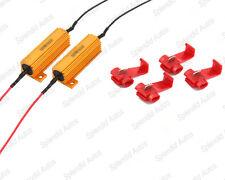 Load Resistors for Turn Signal Light Blinkers Flash Fix 50W 6ΩJ (2 Pieces)