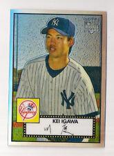 2007 TOPPS 52 KEI IGAWA CHROME REFRACTOR RC #181/552!!!