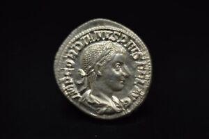 Gordian III AR Denarius. Rome, AD 241-243./N34A