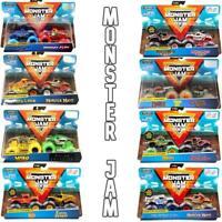 Monster Jam 2 Packs of Trucks - Choose Your Favourites!