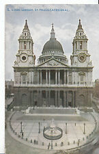 London Postcard - St Paul's Cathedral    ZZ2773