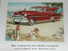 1952 Chevrolet advertisement, Chevrolet Styleline Deluxe Sedan, '52 Chevy