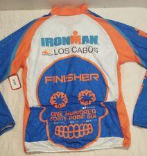 NEW Men's Sugoi IronMan Los Cabos Full Zipper L/S Evolution Jersey Sz. 2XL