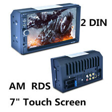 "2DIN Car 7"" Touch Screen MP5 Reversing Rear View AM RDS RM Phone Interconnection"