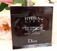 Christian Dior Hydra Life pro-youth sorbet eye creme sample New