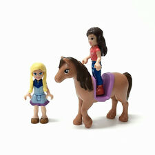MEGA BLOKS My Life As Blue Ribbon Ranch mini doll figure & horse building toy