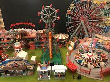 "FALLER Diorama  "" Miki Kirmes "" with 8 fantastic working rides"