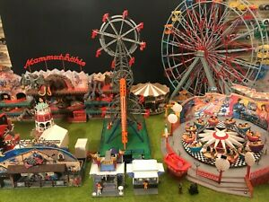 "FALLER Diorama ""Miki Kirmes"" Mammut Hohle & Luna park - 8 MOTORS"