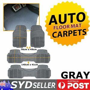 Grey Car Carpet Floor Mats Ant-Slip For Hyundai Santa Fe DM Series 4-piece sets